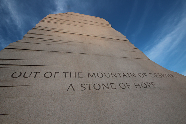 A Stone of Hope, Dr. Martin Luther King Jr. Memorial