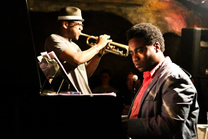 David Bryant with the Marcus Strickland Quintet at Bohemian Caverns