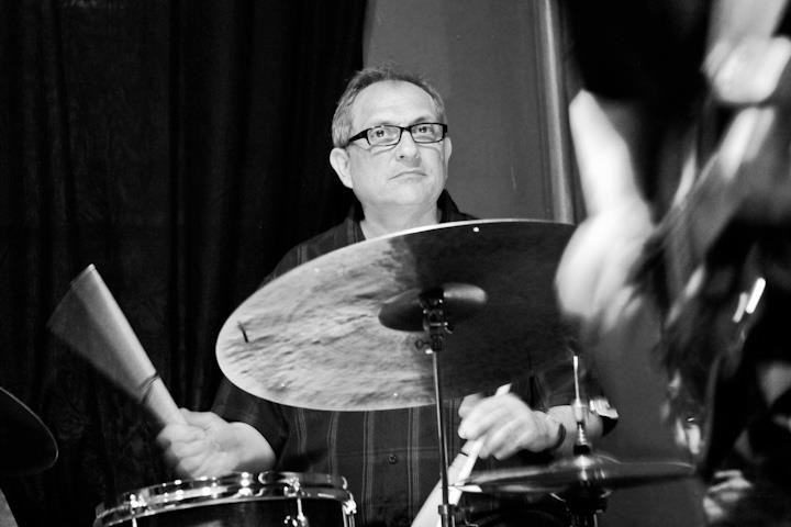 Tony Martucci on drums with Tony Martucci Quintet at Twins Jazz