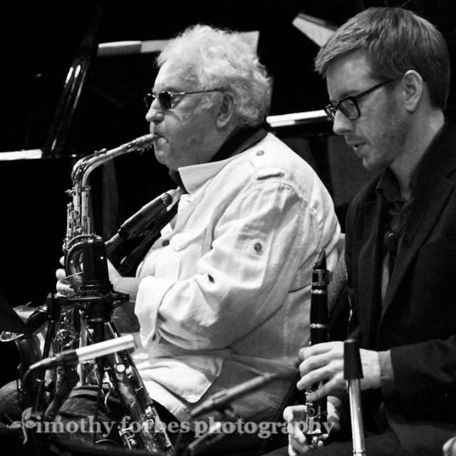 Lee Konitz, saxophone with Brad Linde