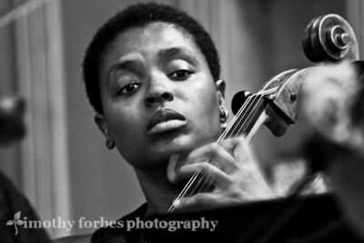 Elise Cuffy, cello
