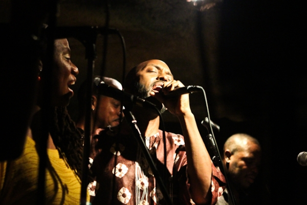 Ka'Ba Akintunde, vocals with Michelle Chatman, Reginald Cyntje and Antonio Parker