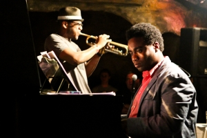 David Bryant, piano and Etienne Charles, trumpet