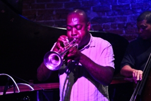 Thad Wilson, trumpet with Kent Miller, bass