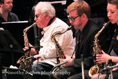 Lee Konitz and the Brad Linde Expanded Ensemble