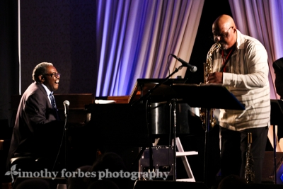 Larry Willis, piano and Joe Ford, saxophone