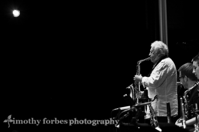 Lee Konitz, saxophone with Brad Linde and Sarah Hughes