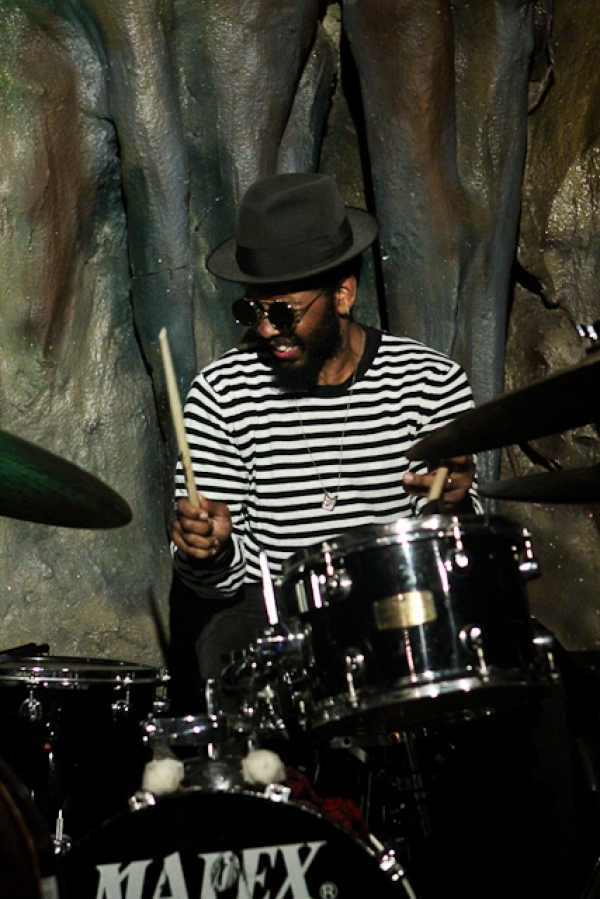 Jamire Williams, drums