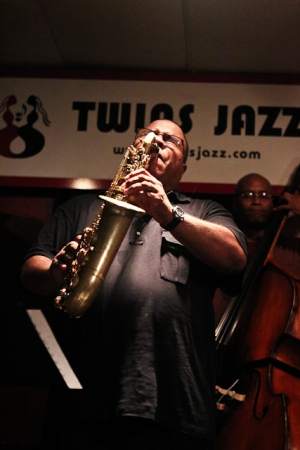 Bruce Williams, saxophone and Herman Burney, bass