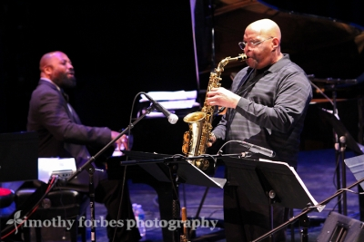 Joe Ford, saxophone and Allyn Johnson, piano