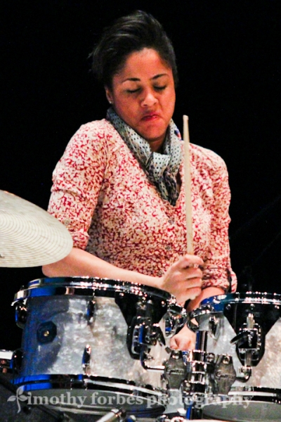 Kimberly Thompson, drums