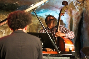 Dezron Douglas, bass with David Virelles, piano