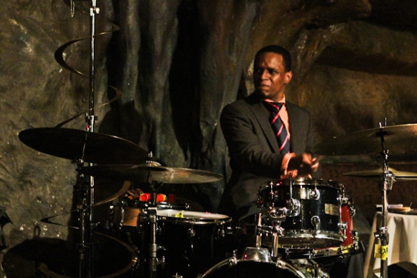Quincy Phillips, drums